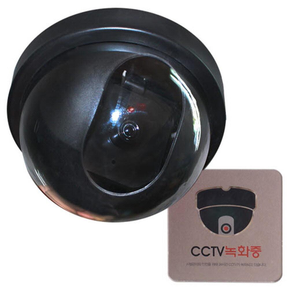 170403OFD2144 ( 모형감시카메라 돔형 CCTV녹화중 사인 별매 )